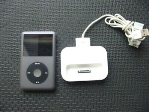 iPod Classic 160GB 7th generation(Space Gray) With Dock_Tested Good