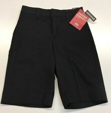 DICKIES KR5514 Girls Classic Fit Bermuda Stretch Twill Shorts 10 NWT NEW