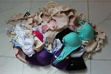 New Wholesale Lot of 50X Women's Assorted Sizes Cup Band Wired + Soft Cup bras