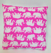 "Lilly Pulitzer Pink Tusk In Sun Handmade Throw Pillow 14""x14"" New"