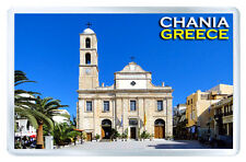 CHANIA GREECE MOD2 FRIDGE MAGNET SOUVENIR IMAN NEVERA