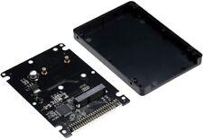 """docooler mSATA a 2,5"""" 44PIN Pata/IDE SSD HDD a Piede Scatola Nero"""
