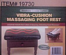HANDSOME GENUINE CORDLESS VIBRA-CUSHION MASSAGing FOOT REST