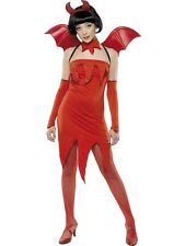 Devil Pixie Costume UK 4/6 Teenager Size HALLOWEEN CLEARANCE Ladies Fancy Dress