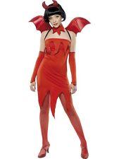Devil Pixie Costume UK 4/6 Teenager Size HALLOWEEN CLEARANCE Ladies Fancy Dress