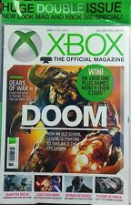 Xbox 2016 Special Issue Doom Gears of War 4 Lego Star Wars FREE SHIPPING sb