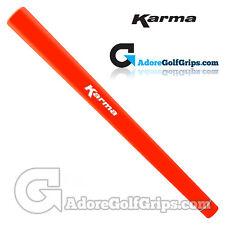 Karma Smoothie Paddle Putter Grip-Orange + Gratuit Ruban