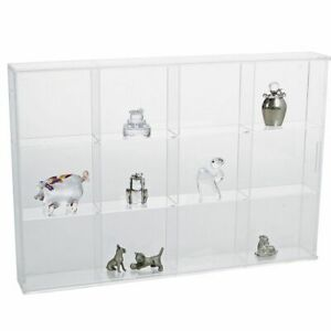 SAFE 5258 Display Acrylic Glass 12 Compartments 3 11/32x2 15/16x1 21/32in
