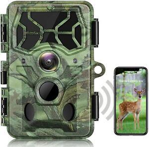 Campark T100 4K 30MP Wi-Fi Trail Camera Waterproof Bluetooth WIFI NEW