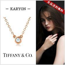Tiffany Diamonds By The Yard Rose Gold (18K) Diamond Pendant (Rose Gold) Used