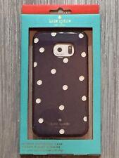 Kate Spade Hybrid Hardshell Case Scatter Pavilion Navy Cream Gold Galaxy S6 Edge
