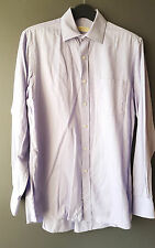 "Michael Kors Lavender Spread Collar Regular Fit Dress Shirt Size 15.5"" 34-35"""