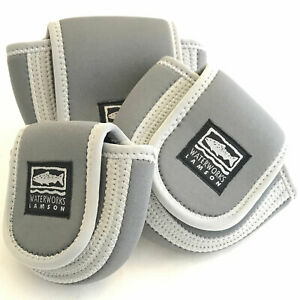 Waterworks-Lamson Neoprene Reel Case - Grey/Black