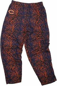 Zubaz NFL Football Men's Chicago Bears Post Pattern Pants