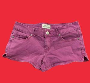 AEROPOSTALE ... Pink  Denim  Jean  Shorts ... Size  3 / 4