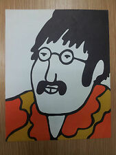 The Official BEATLES YELLOW SUBMARINE Stationary- JOHN LENNON A4 paper.