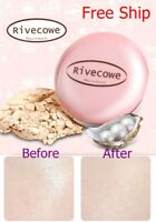 Korea[Rivecowe]Makeup CC Powder Pact Sebum Control Convenient Compact Foundation