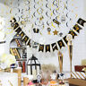 Graduation Party Supplies Hanging Swirls Decorations,Congrats Grad Swirls Decor