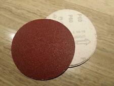 """Lot de 10 disques abrasifs diamètre 75mm à grain 2000 auto agrippant 3"""" neufs TT"""