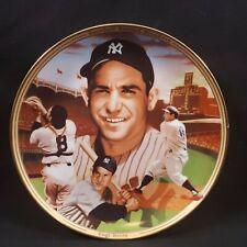 "Vintage Yogi Berra Bradford Exchange ""Record Breakers"" Commemorative Plate #454A"