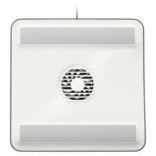 1 Fan White Laptop Cooling Pads
