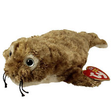 TY Beanie Baby - FINS the Seal (7.5 inch) - MWMTs Stuffed Animal Toy