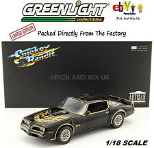 PONTIAC TRANS AM SMOKEY AND THE BANDIT  1977 Black/Golden 1:18 Greenlight 19025