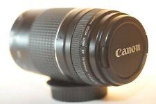Canon EF 75-300mm f/4-5.6 III lens for EOS A2 620 Rebel T7 90D 80D 5D 6D 7D