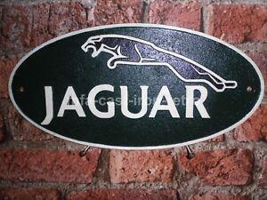 Cast Iron Large Jaguar plaque
