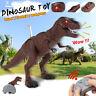 RC Elektro Tyrannosaurus Walking Dinosaurier Sound Kinder Spielzeug Dino