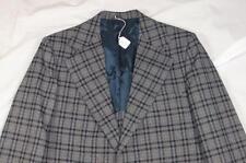 Vtg 60s 70s Penneys Towncraft Wool Mod Suit Jacket Blazer Sport Coat Disco Plaid