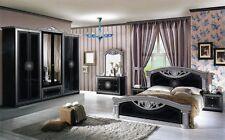Camera da letto matrimoniale completa stile Barocco modello Roma design