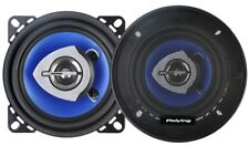 Pack Juego de altavoces 2-way para coche 2x80W 4ohm 100mm estéreo Woofer Tweeter