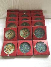Lot of 18 NIB Artis Orbis Goebel Mini Plates, Van Gogh, Monet, & Renoir, NEW!