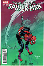 AMAZING SPIDER-MAN #8 OTTLEY 1:25 VARIANT NEAR MINT FIRST PRINT BAGGED & BOARDED