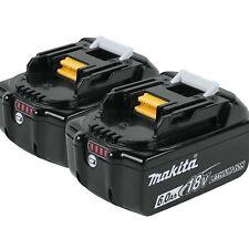 2xNew-Genuine Makita 18V 6.0AH Battery Lithium Ion Cordless BL1860B