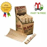 RAW Bamboo Rolling Mat Natural Genuine for use Rolling Papers Cigarette Smoking