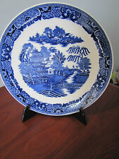 Ironstone 1960-1979 Blue & White Transfer Ware Pottery