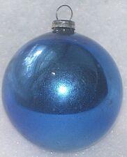 VINTAGE JAPAN BLUE FEATHER TREE MERCURY GLASS CHRISTMAS ORNAMENT