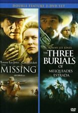 The Missing & The Three Burials of Melquiades Estrada [DVD] NEW!