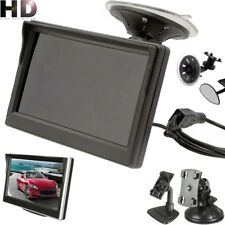 "5.3"" TFT LCD Color Car Rearview Rear View Monitor Reverse Backup Camera DVD GT"
