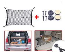 New Car Trunk Rear Cargo Organizer Storage Elastic Mesh Net Holder +Hardware Set