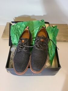 Tommy Hilfiger Men's Garson8 Wool Oxford Lace-up Shoes Size 10 - MSRP $90