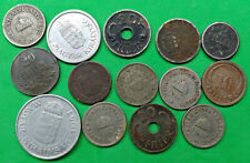 Lot of 14 Mixed Old Hungary Coins You Date Vintage Pre Communist !!