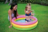 Inflatable Water Pool Outdoor Baby Sunset Water Pool Summer Fun Activity Kids