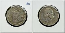 Netherlands - 2½ Gulden 1866 Zeer Fraai+