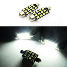 2x SAMSUNG 12 SMD High Power LED 578 211-2 For FORD Interior Dome Light 42mm