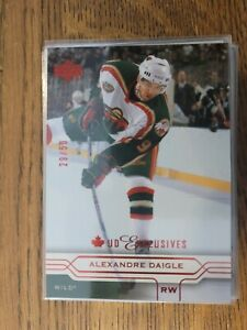 2004-05 Upper Deck Canadian Exclusives /50 87 Alexandre Daigle - Set Breakup