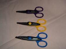 Singer Paper Edgers Shears Scissors Scrapbooking Tools Crafts Set of 3 NEW