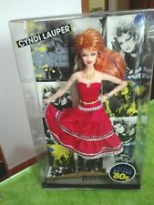 BARBIE CYNDI LAUPER DAMAGED BOX NRFB -  model muse doll collection Mattel